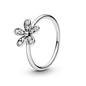 New Pandora Dazzling Daisy CZ Ring
